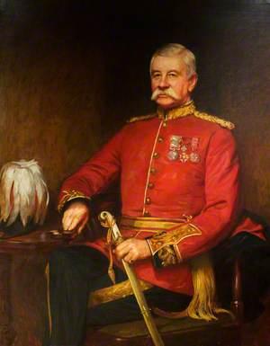 Major-General William Allan (1832–1918), 41st Regiment, Colonel of The Welch Regiment (1904–1918)