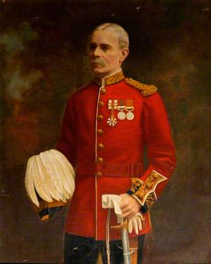 Major-General George Paton (1841–1922), CMG, Colonel of South Wales Borderers (1902–1922)
