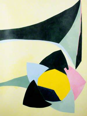 Abstract Forms on Lemon Yellow*