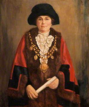 Miss Sarah Evans Davies, Mayor (1928–1930)