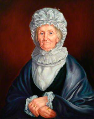 Copy of a Portrait of Mrs Cook in Old Age