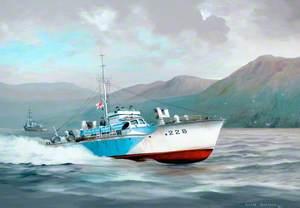 Vosper MTB, c.1944