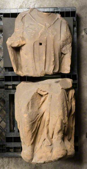 Enthroned Statue*