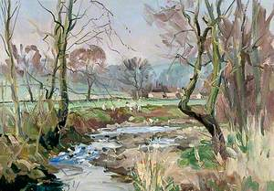 May Study, Winterbourne, Yorkshire