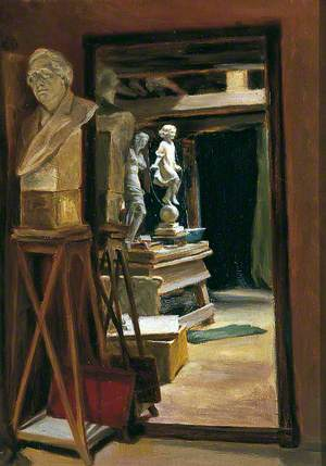 The Sculptor's Loft (Miss Frances Darlington's Studio in Knaresborough)