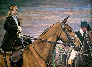 Mademoiselle Cecile Lavigne at Grandes Ventes