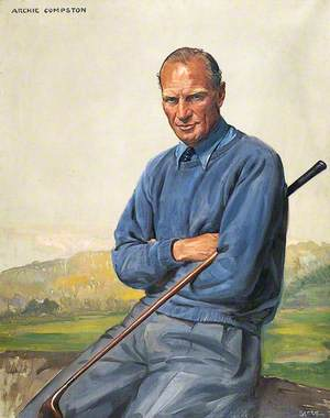 Archie Compston, the Golfer