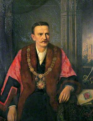 J. H. Wilson, Mayor of Harrogate