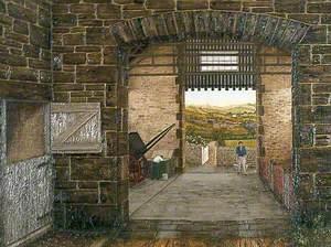 Through a Dale's Barn (Bridgend Farm, Hampsthwaite)