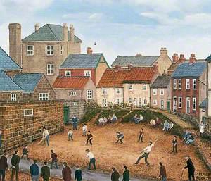 Castle Yard, Knaresborough