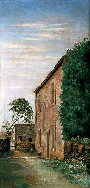 View of a Yorkshire Farmhouse