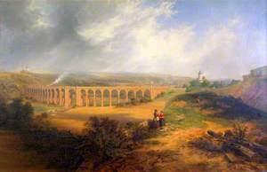 The London Road Viaduct, Brighton