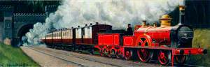 Travel in 1865 (London and North Western Railway 'Large Bloomer' No. 607)