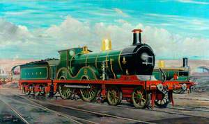 South Eastern and Chatham Railway 4–4–0 Locomotive No. 738