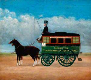 South Eastern Railway, Paddington Conveyance Association Horse-Drawn Omnibus
