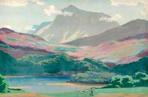 Wales, Cader Idris and the Afon Mawddach
