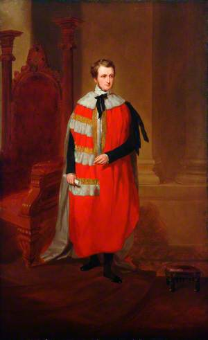 The Earl of Yarborough, Chairman, Manchester, Sheffield and Lincolnshire Railway (1847–1860)