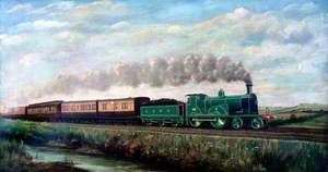 London and South Western Railway 4–4–0 No. 294 Hauling Southampton Boat Special