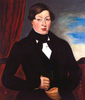 George Stephenson (1781–1848) as a Young Man