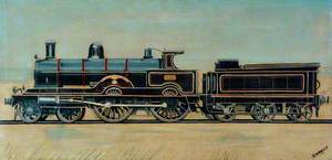 London and North Western Railway 4–4–0 Locomotive No. 1901 'Jubilee'