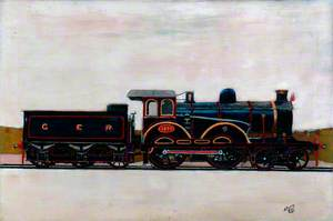 Great Eastern Railway 4–4–0 Locomotive No. 1870