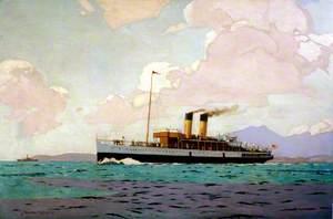 SS 'Glen Sannox' on the Clyde