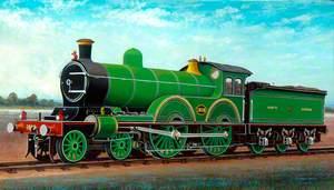 North Eastern Railway 4–4–0 Locomotive No. 1619