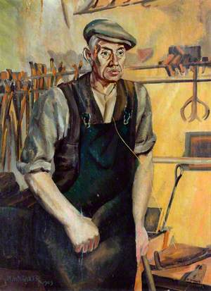 'George' the Blacksmith, Dairycoates Engine Shed, Hull