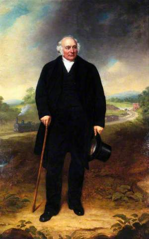 John Ellis (1789–1862), MP, Chairman, Leicester and Swannington Railway and Midland Railway