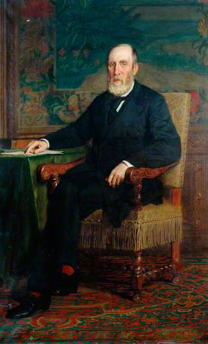 Samuel Laing, Chairman, London, Brighton and South Coast Railway