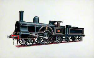 London and North Western Railway 2–2–2 Locomotive 'Princess Royal'
