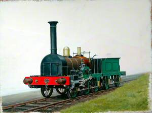 2–2–2 Locomotive Built by George Forrester