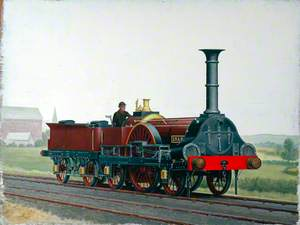 London and South Western Railway 2–2–2 Locomotive 'Snake'