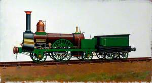Grand Junction Railway 2–2–2 Locomotive 'Sirocco'