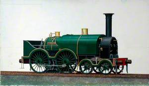 Great Western Railway 4–4–0 Saddletank Locomotive 'Corsair'