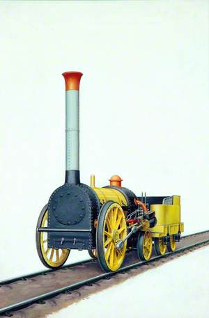 Liverpool and Manchester Railway 0–2–2 Locomotive 'Northumbrian'