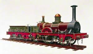 London, Brighton and South Coast Railway 2–2–2 Locomotive No. 60 'Jenny Lind'