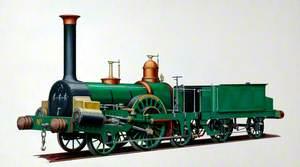 Grand Junction Railway 2–2–2 Locomotive 'Tamerlane'