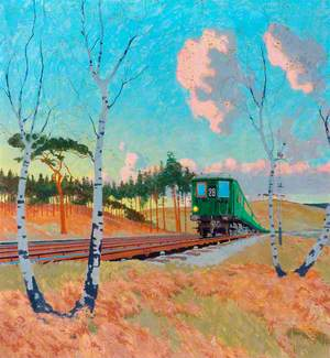 Southern Railway Electric Locomotive No. 182