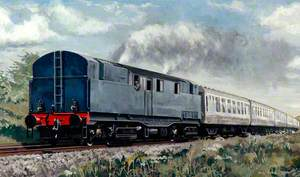 Turf Burning Locomotive 'Coras Iompair Eireann'