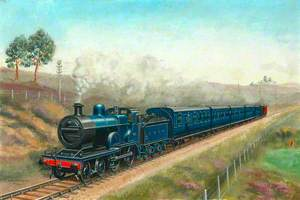 Somerset and Dorset Joint Railway 4–4–0 Locomotive No. 41