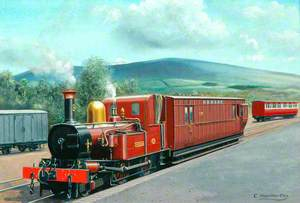 Isle of Man Railway 2–4–0 SideTank Locomotive 'Fenella'