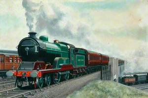 Great Central Railway 4–4–0 Locomotive No. 434 'The Earl of Kerry'