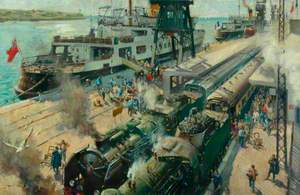 Bon Voyage: Trains Joining Steam Ships at Calais