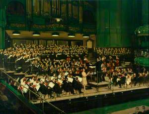 LNER Musical Society at Queen's Hall, London