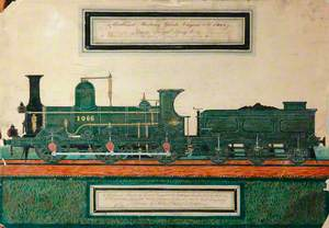 Midland Railway 4–4–0 Goods Engine No. 1066