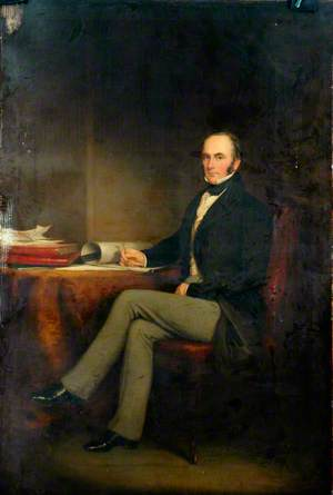 George Carr Glyn, First Lord Wolverton, Chairman of the London and Birmingham Railway (1837–1846) and Chairman of London and North Western Railway (1846–1852)