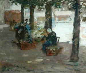 Market in Bruges