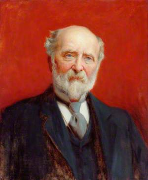County Alderman R. E. Pannett, JP, Donor to Pannett Park Art Gallery and Park