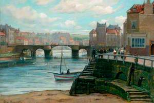 Whitby with Its Original Town Bridge